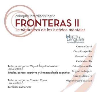 Imagen para Coloquio Interdisciplinario Fronteras II