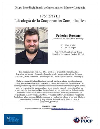 Imagen para Fronteras III: Psicología de la Cooperación Comunicativa